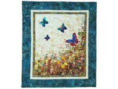 Butterfly Journey Quilt -- superb carefully made Amish Quilts from Lancaster (wh7532)