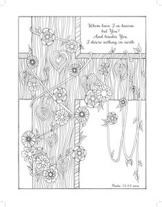 Joyful Hearts Coloring Love Majestic Expressions 9781424551781 Amazon Bible PagesCross Page