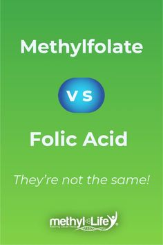 So here's the key thing: Methylfolate and Folic Acid are not the same! If you have a MTHFR gene mutation, taking folic acid is actually a bad thing for you to take. We explore why it is bad and what to take instead: Methylfolate! #mthfr #supplements #methylation #folicacid How To Move Forward, Vitamins For Women, Prenatal Vitamins, Neurotransmitters, Folic Acid, Things That Bounce, Health And Wellness, Pregnancy, Key