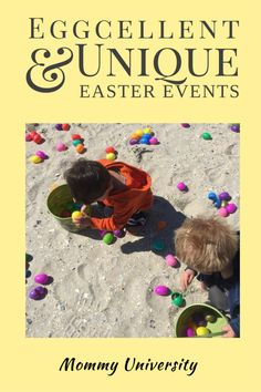 Eggcellent and Unique Easter Events in NJ, if you are looking for egg hunts, meeting the Easter bunny and some brain boosting activities that revolve around the Easter celebration then this list has what you are looking for as compiled by Mommy University at www.MommyUniversityNJ.com