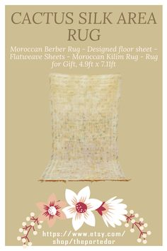 Cactus silk area Rug, Moroccan Berber Rug! Colorful moroccan rugs, moroccan rug living room, vintage moroccan rugs, moroccan rug bedroom, pink moroccan rug, black and white moroccan rug, white moroccan rug, red moroccan rug, grey moroccan rug, moroccan rug decor, round moroccan rug, moroccan rug wall hanging, boho moroccan rug, moroccan rug office, plush moroccan rug, small moroccan rug, outdoor moroccan rug. #vintagemoroccanrugs #moroccanrugbedroom #whitemoroccanrug #modernmoroccanrug Living Room Decor Inspiration, Moroccan Berber Rug, Rug Shapes, Rugs In Living Room, Cactus, Area Rugs, Plush, Colorful, Silk