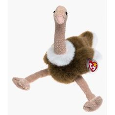 Ty Beanie Buddies - Stretch the Ostrich