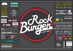 Rock Burger - Jogo Americano - GB Creative - Agência de Marketing Digital e Criação de Sites, Performance, Inteligência e Design Estratégico de Vitória - ESGB Creative – Agência de Marketing Digital e Criação de Sites, Performance, Inteligência e Design Estratégico de Vitória – ES