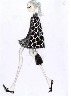 Valentino 50th Anniversary Animal Print Sketch 2