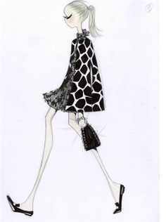Valentino 50th Anniversary Animal Print Sketch 2