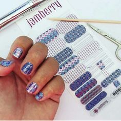 Royal Bliss. Brismagicalmanis.jamberry.com