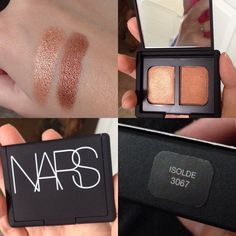 Meet my new obsession. It's almost like this duo was made for me. #nars #isolde