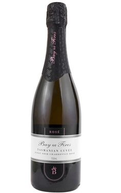 Bay of Fires Sparkling Rose Pinot Noir Chardonnay 2008 Tasmania - 6 Bottles Red Berry Fruit, Strawberry Fruit, Wine Varietals, Wine Display, Sparkling Wine, Pinot Noir, Tasmania, Wines, Rio