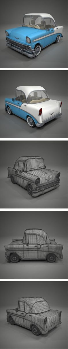 Chevrolet Bel Air Toon by German Lagna