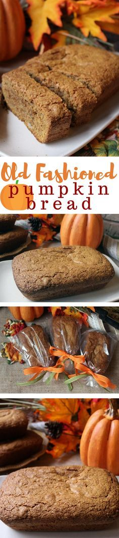 This is by far the best pumpkin bread recipe I have ever had the pleasure of tasting. It was passed to me by my aunt who said it was her great-grandmother's recipe. I also use this recipe for my Pumpkin Cookies, only I alter it some.
