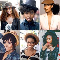 Opinando Moda - Cabelos cacheados | Dicas para usar toucas, bonés e outros tipos de chapéu. - Opinando Moda