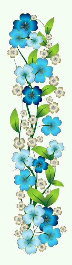 Blue Flower Decor PNG Clipart blue theme Mother's day for Bonnie? Blue Flower Png, Blue Flowers, Flower Art, Flower Images, Cactus Flower, Exotic Flowers, Yellow Flowers, Pebble Painting, Fabric Painting