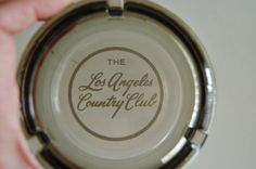 Vintage Los Angeles Country Club Ashtray