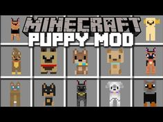 Minecraft PUPPY MOD / HELP THE VILLAGERS FIND THEIR PUPPY!! Minecraft - YouTube Minecraft Dogs, Minecraft Videos, Minecraft Houses, Minecraft Stuff, Flag Game, Cheap Games, Capture The Flag, How To Train Dragon, Pinball