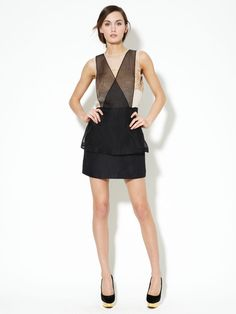 Silk Embellished Pinafore Dress by 3.1 Phillip Lim on Gilt. Still can't get enough of this.