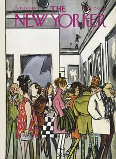 The New Yorker - Saturday, November 19, 1966 - Issue # 2179 - Vol. 42 - N° 39 - Cover by : Charles Saxon