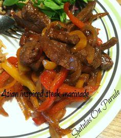 Spatulas On Parade: Asian Inspired Steak Marinade
