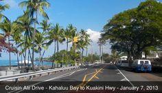Cruisin Alii Drive - Kahaluu Bay to Kuakini Hwy - Kailua Ko
