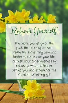 Take a few moments to imagine how free you might feel if you release any past memories that are unpleasant or regretful for you. Let them float away, and open yourself up to a fresh new horizon of unlimited possibilities! <3