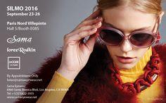 Sama Eyewear at SILMO Paris Optical Fair 2016