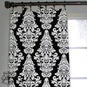 Black & White Berlin Custom Window/Closet Panel