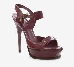 Yves Saint Laurent Fuchsia Sandal
