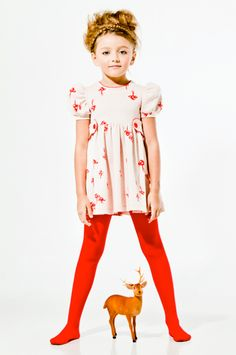 The Girl & The Deer, PITOCATALAN Fall/Winter 2012; by Manu Alvarez Colodrero via Toma Estudio #children #clothing