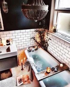 Bathroom Decor Bathroom Inspiration : malmo_and_moss Badezimmer Inspiration: malmo_and_moss New Bathroom Ideas, Bathroom Inspiration, Bathroom Interior, Small Bathroom, Bathroom Goals, Cozy Bathroom, Bohemian Bathroom, Bathroom Designs, Bathroom Mirrors