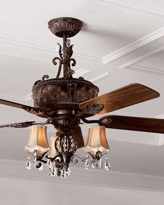 Horchow ceiling fans horchow fan and chandelier living spaces onlyatnm only here only ours exclusively for you old world style ceiling aloadofball Images
