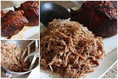 Making Pressure Cooker Pulled Pork