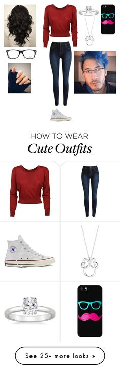"""Cute outfit"" by judithwinchester on Polyvore featuring Dolce&Gabbana, Converse, Ray-Ban, Casetify and Disney"