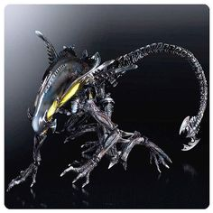 Aliens Colonial Marines Spitter Play Arts Kai Action Figure *Preorder*