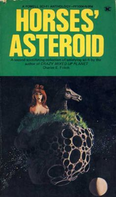 To be clear, the punctuation here is amazing. According to the title, this asteroid is owned by not one, but a collection of horses. Brilliant.    Via coverbrowser.com