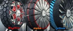 Hankook's sci-fi transforming tire concepts attack land and water