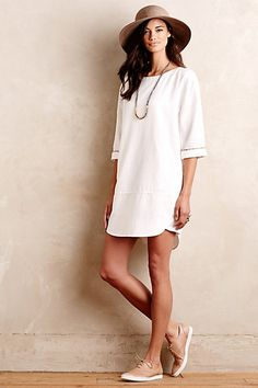 Merian Tunic Dress #anthropologie