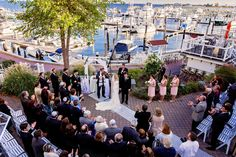 Wedding Ceremony at Saybrook Point Inn and Spa, CT