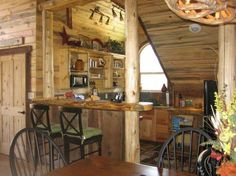 rustic kitchen in a Barn Pros Dover