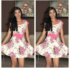 Narcyfashion.. vestido beautiful.. floral juveni..! l