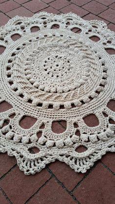 Okrągły dywanik