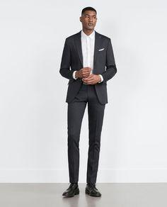 Costumes en stretch ou coton pour homme | ZARA France
