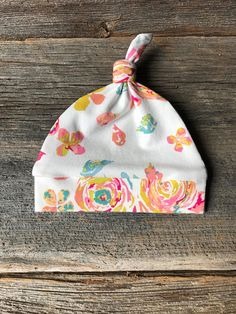Newborn Floral Hat