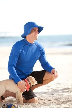 Coolibar Men's UV Protective Swimwear all UPF 50+ for a happy sunny living!