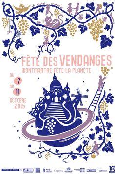 Fête des Vendanges de Montmartre 2015 : le programme sur la Butte