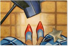 Shannon Yashcheshen Louboutin Pumps, Christian Louboutin, Oil On Canvas, Heels, Heel, High Heel, Stiletto Heels, High Heels, Women Shoes Heels