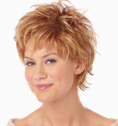 Messy+Short+Haircuts+2014   short hairstyles for older women pictures