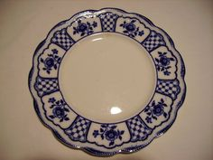 Flow Blue Melbourne Salad Plate Vintage Gorgeous