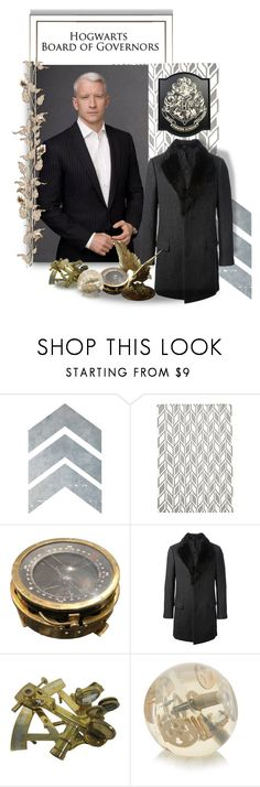 """""""All Aboard the Merlin's Pride!: Corineus Vanderbilt"""" by steelsheen ❤ liked on Polyvore featuring Dolce&Gabbana, men's fashion, menswear, Nautical, trenchcoat, pinstripes, SSRPG and AndersonCooper"""