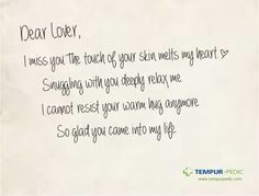 Tempur-­Pedic // The Love Letter  #copywriting #loveletter #printad #mattress #tempur-pedic