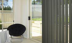 de înaltă calitate din aluminiu jaluzele verticale de umbrire care ține interioare rece