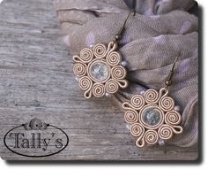 Simple soutache earrings